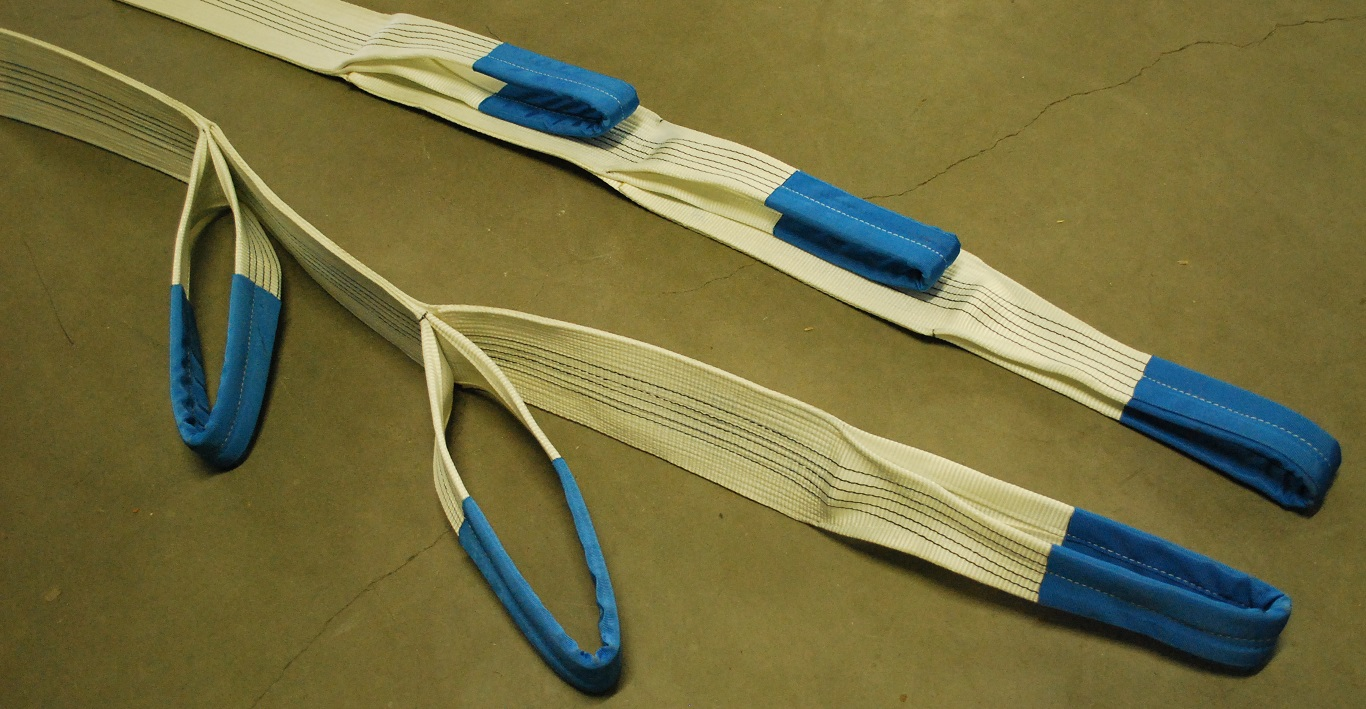 Texora textile products for lifting safety for Outboard motor lifting strap